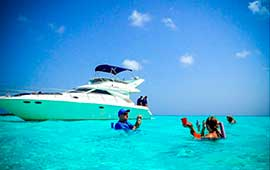 Yacht-Rentals-in-Cancun-Sea-Ray-40-pies-Puerto-Aventuras-Private-Charter-4-Hours-In-Ha-Turtle-Snorkel-Tour-luxury-charter-chef-pirvate-cozumel-el-cielo-palancar-reef-luxury-snorkel-tour