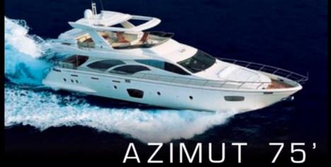 Azimut 75 Cancun Yacht Rentals