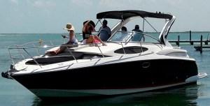 yacht rentals in Cancun regal 34 feet