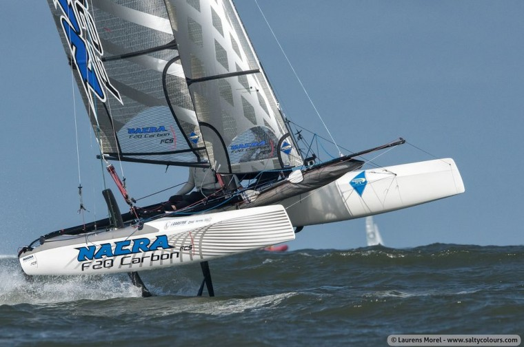 Want To Round The Horn On A Foiling Cat With Cammas