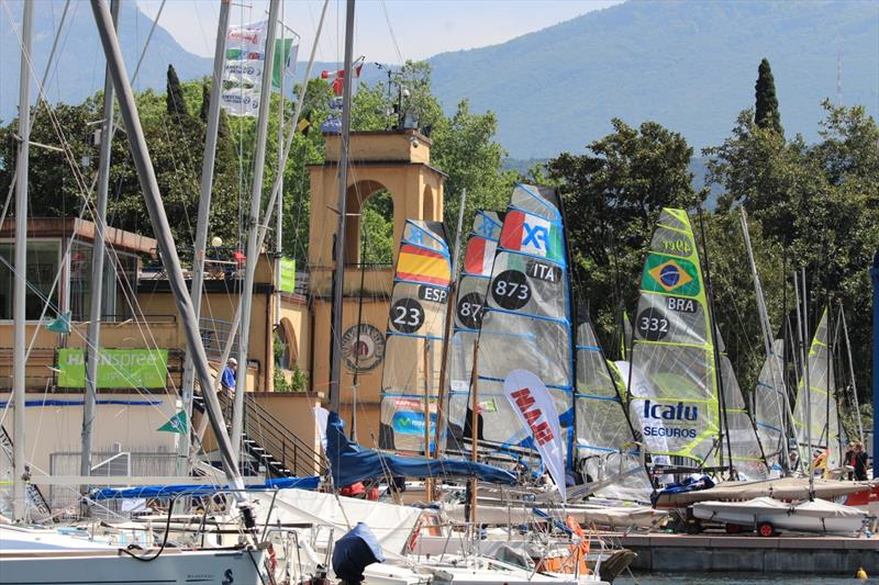 All Set On Lake Garda For The Eurosaf Champions Sailing Cup