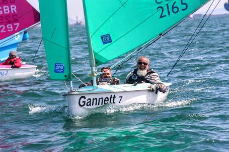 Hansa Class Grand Prix at Chesil - photo © Nicky Mathew