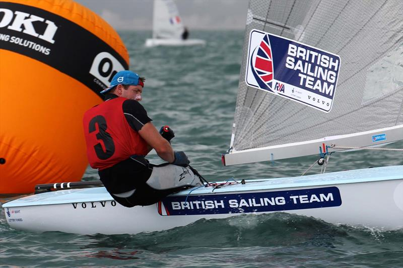 Ed Wright On Day 2 Of The Finn Gold Cup In New Zealand