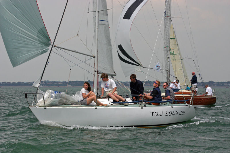 Red Funnel Quarter Ton Cup At Cowes 2006 Day 1