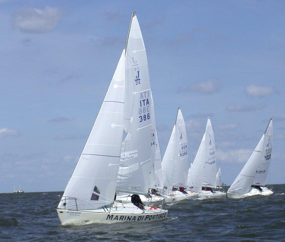 J24 Worlds At Medemblik Holland Overall