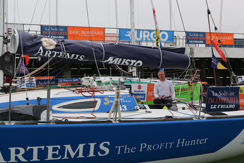 Robin Elsey As The La Solitaire Bompard Le Figaro Fleet