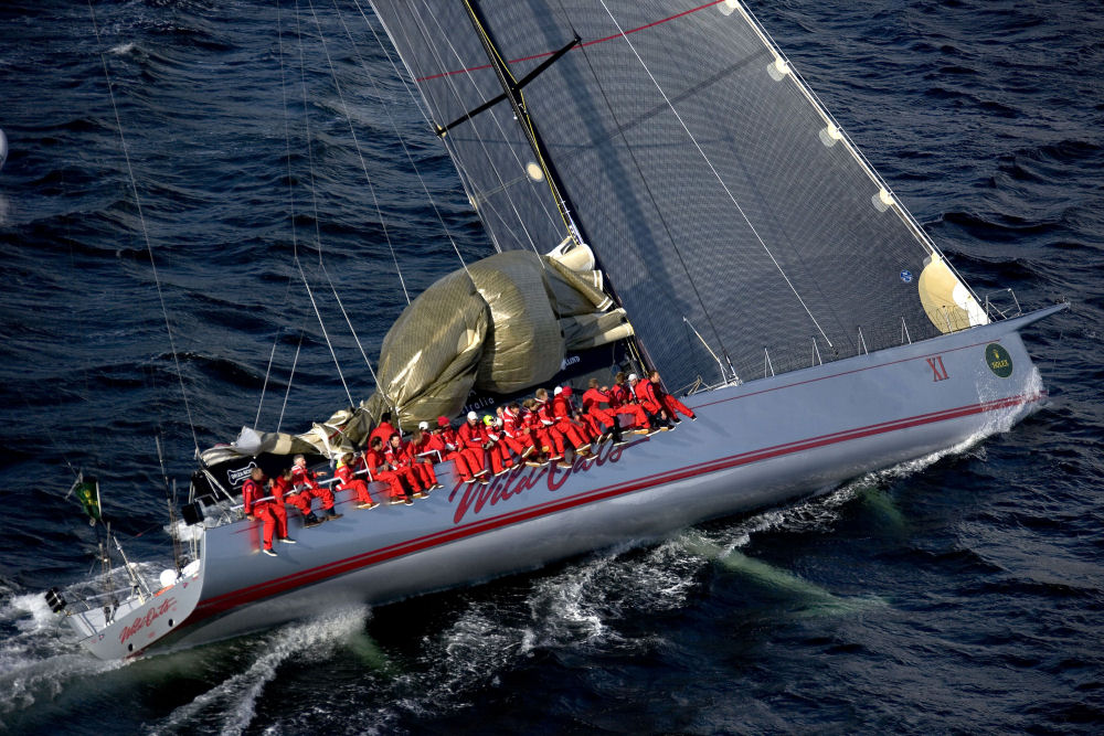 New Record For Wild Oats In The Rolex Sydney Hobart