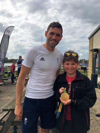 Olympic Gold Medallist Visits Bowmoor
