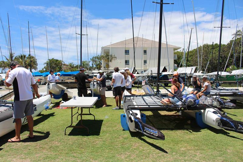 Australias First Nacra 15 Training Camp Conducted At The