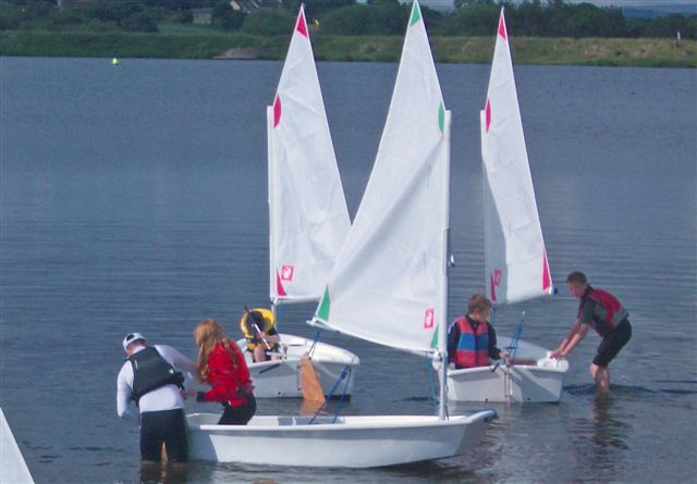 Awards For All Oppis Arrive At West Riding Sailing Club