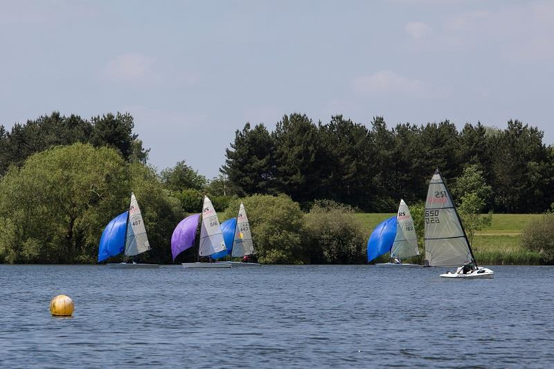 Close at the front during the RS Vareo Inlands at the Illuminis Asymmetric Regatta - photo © Kate Everall Photography