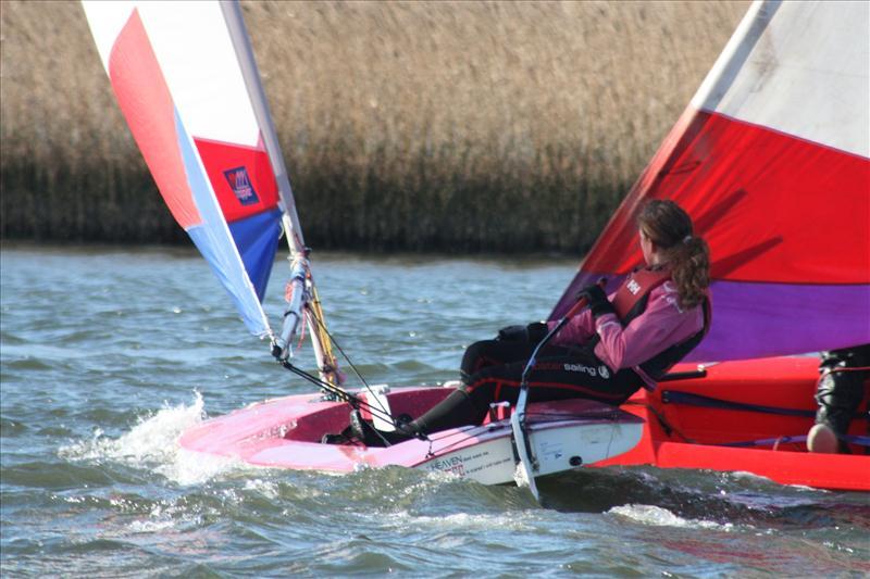 Topper And Splash Training Camp At Christchurch Sailing Club