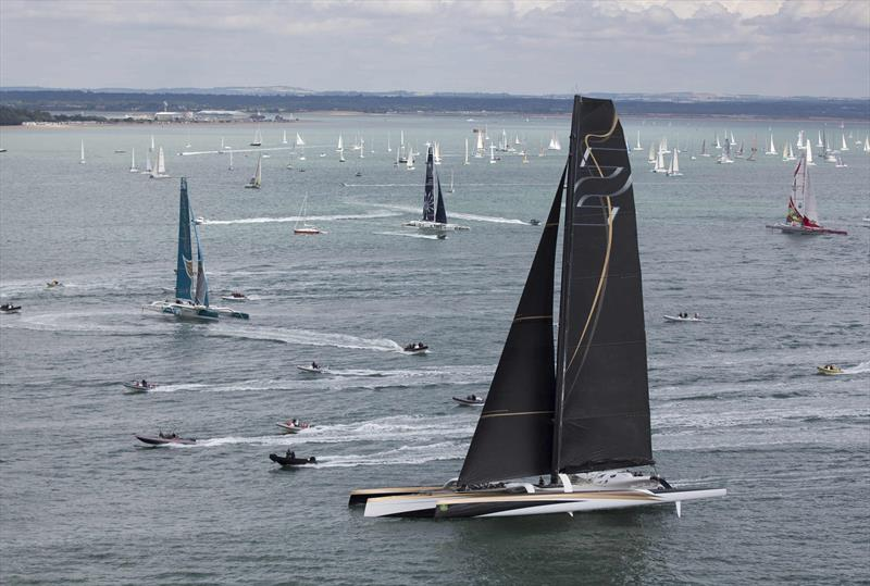 Rolex Fastnet Race 2013 Sets Sail From Cowes