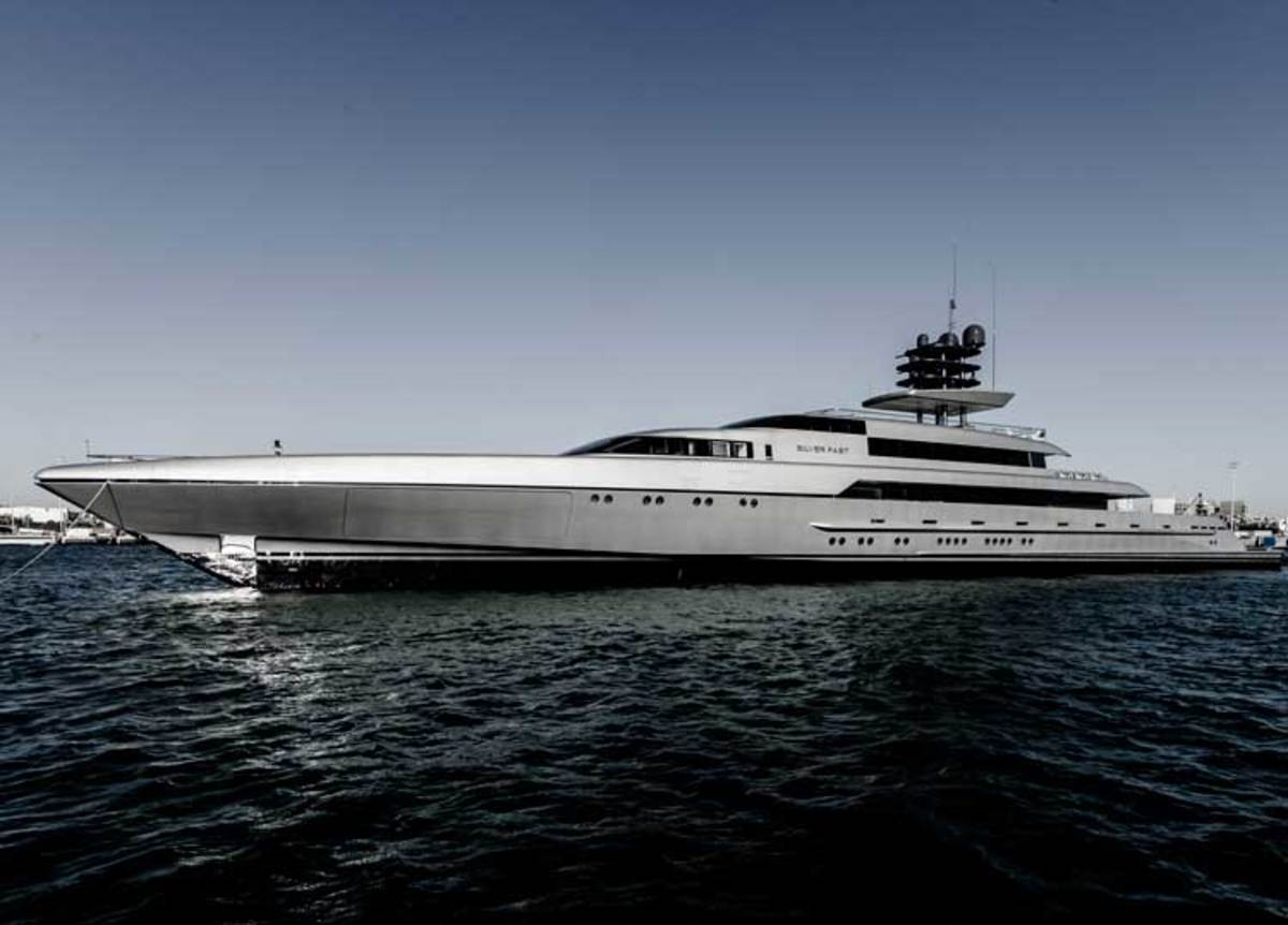 252 Foot Superyacht SilverFast Launched Yachts International
