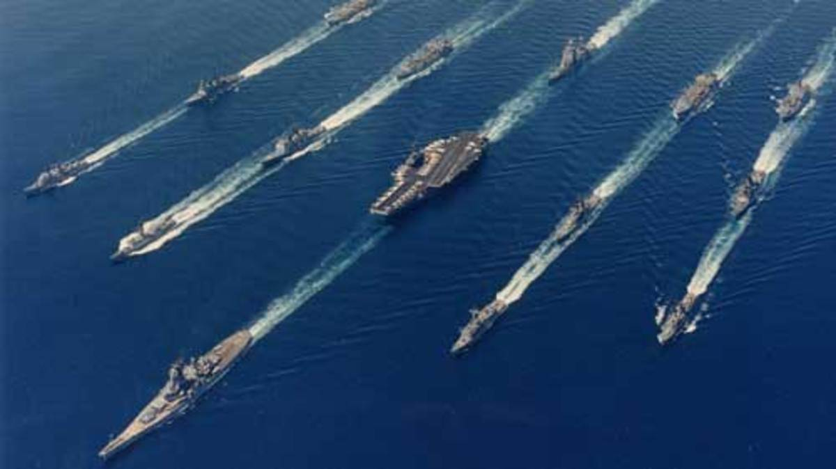 Entire US Navy Fleet On One Page Yachts International