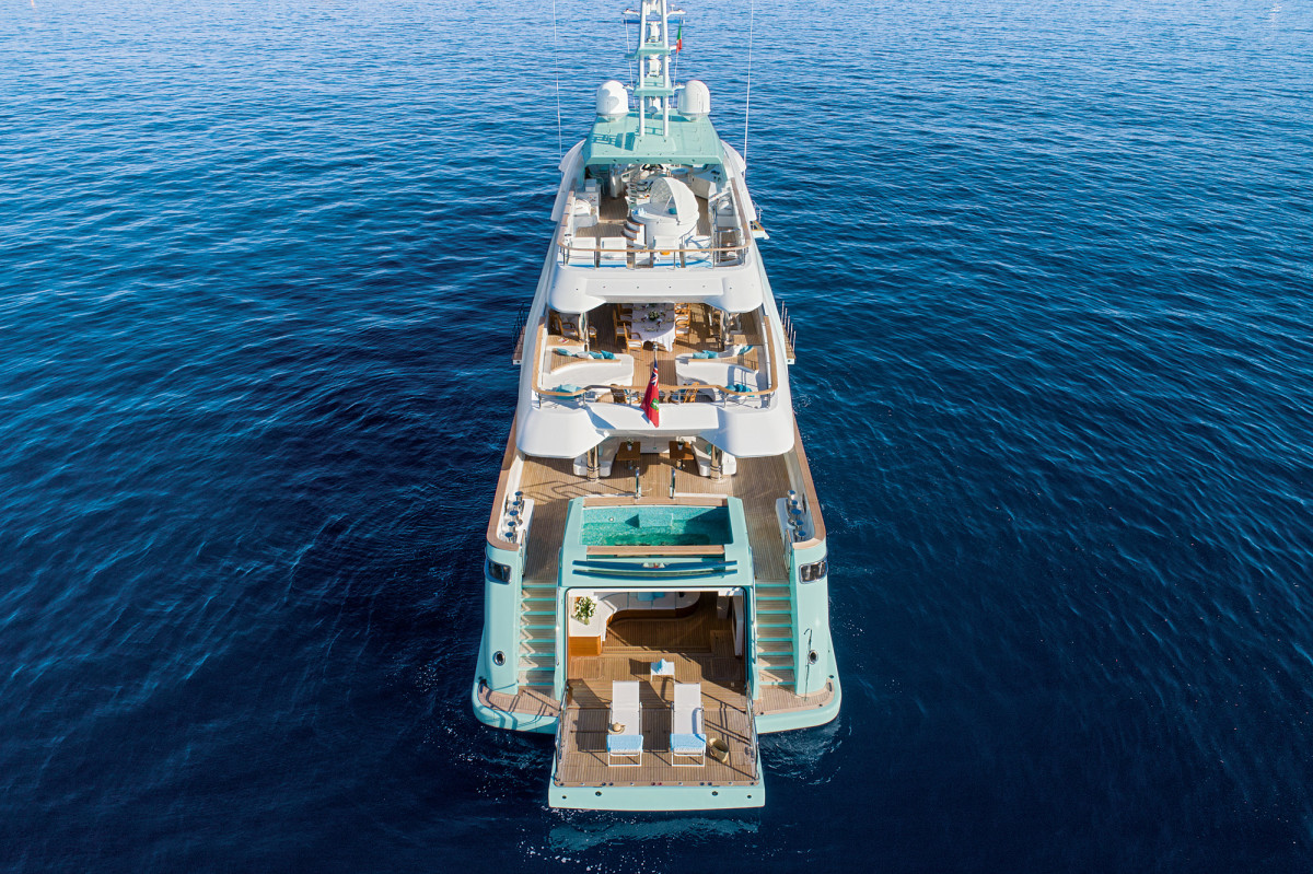 First Look CRN Latona Superyacht Yachts International