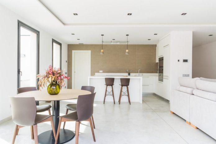 Interior casas prefabricadas