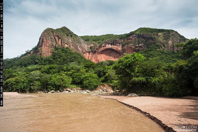 Bermejo Rock cerca Samaipata