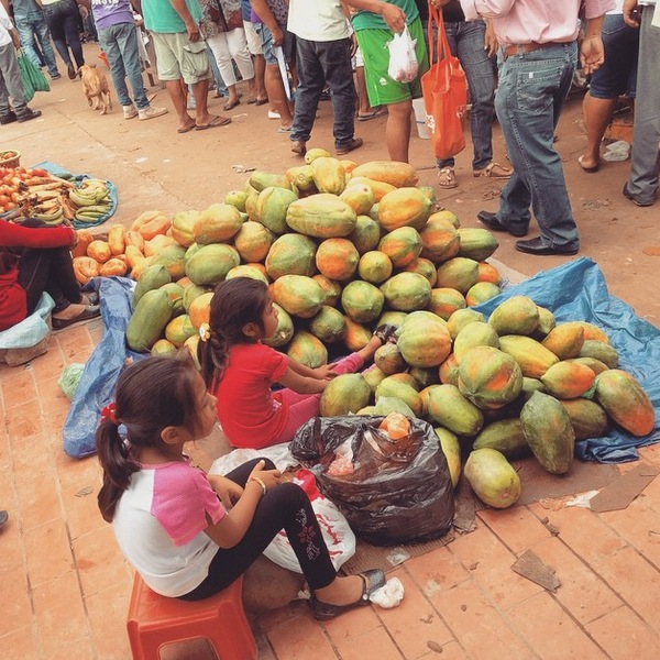 Papaya Rurrenabaque Market