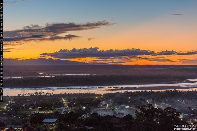 Rurrenabaque Sun set