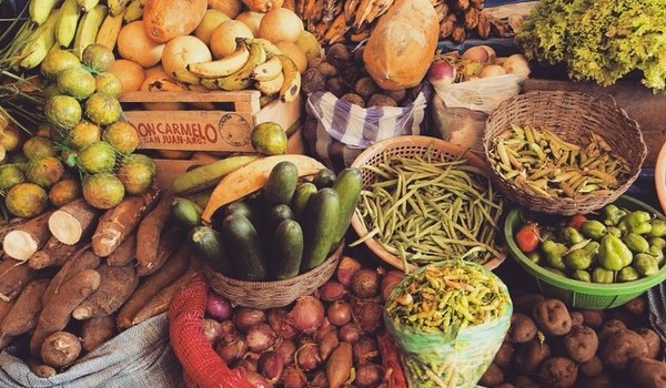 Challenge to find fruits and vegetables in Trinidad