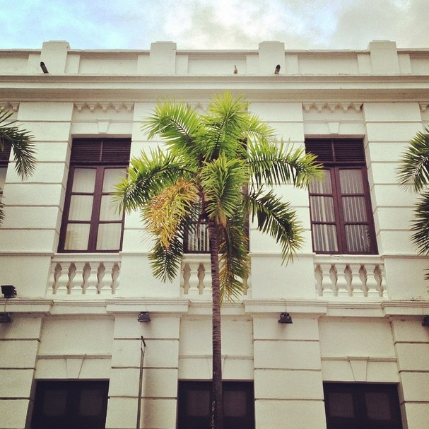Colonial architecture in SantaCruz