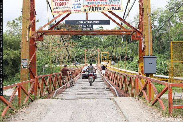 Costa Rica Bridge in Pandora Limon