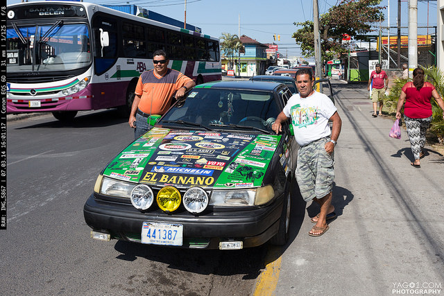 Costa Rica proud car owners