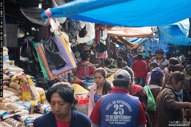 SantaCruzBolivia Market Street