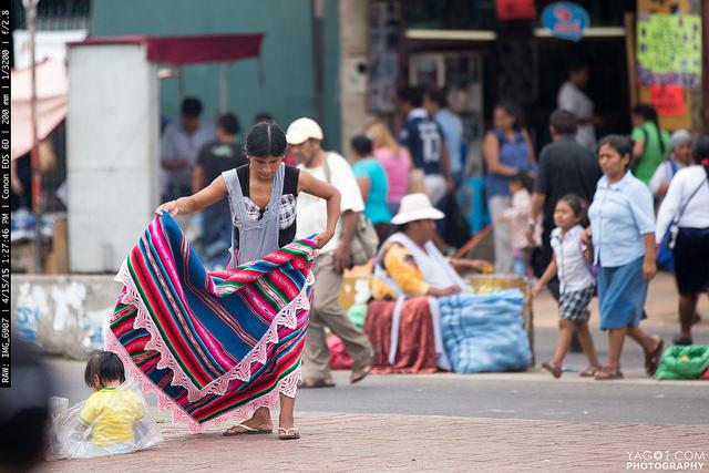 SantaCruzBolivia Street Vendors