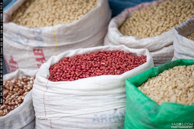 SantaCruzDeLaSierra Bolivia Market Beans