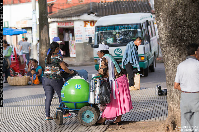 SantaCruzDeLaSierra Mobile Ice Cream Vendor