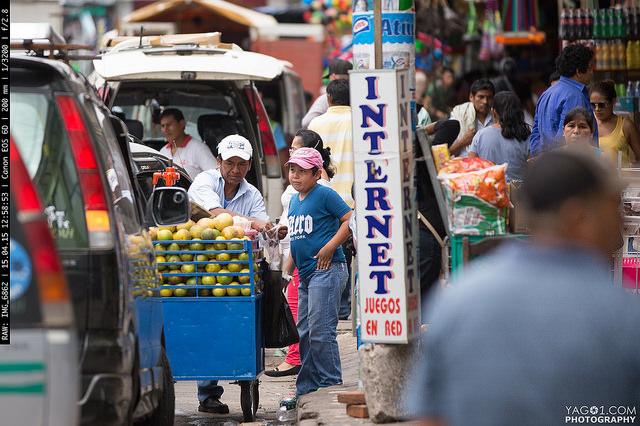 SantaCruzDeLaSierra Mobile Juice Street Vendor