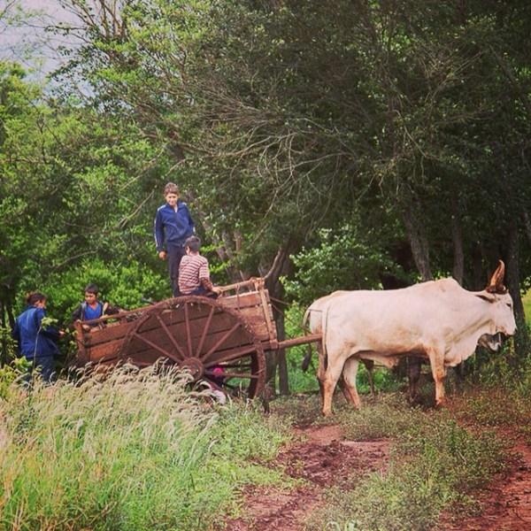 Campesinos en Paraguay