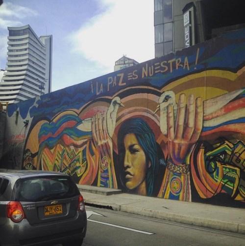 Bogota Colombia Art Grafitti 7