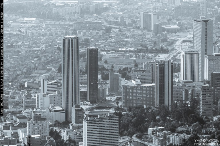 Bogota Skyscrapers Colombia