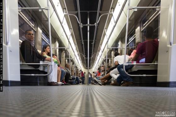 Metro in Medellin Colombia