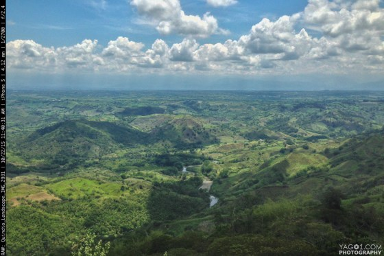 Quindio Eje Cafetero Landscape in Colombia