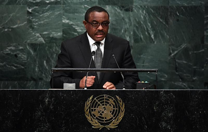 Ethiopian Prime Minister Hailemariam Dessalegn has been in power since 2012