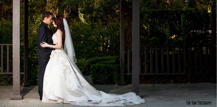 Altadena Cuntry club wedding-couple