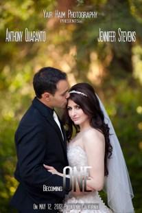 Jennifer and Anthony Wedding Poster