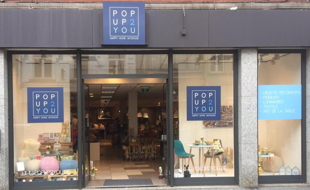 impression et placement POP UP 2 YOU