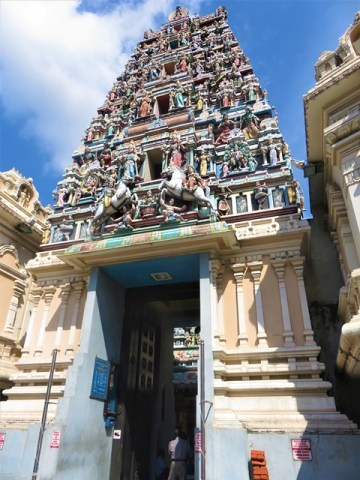 Malaisie Kuala Lumpur temple hindou