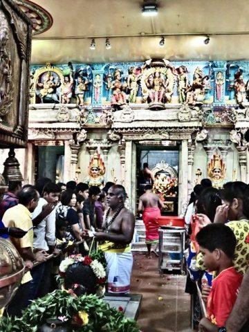 Singapour Little India temple hindou