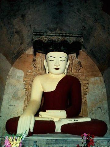 Myanmar Bagan statut Bouddha