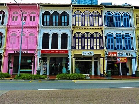 Singapour rue Tanjong Pagar