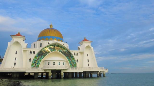 Malaisie Malacca Mosquée Flottante