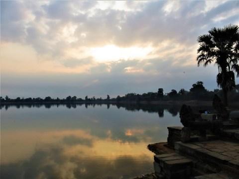Cambodge Angkor lac Sra Srang