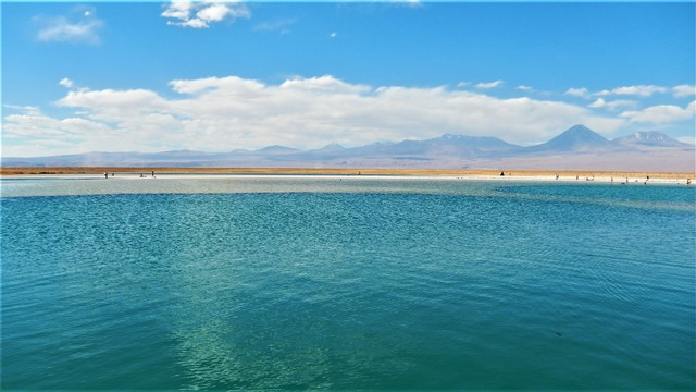 Chili san pedro de Atacama Laguna Piedra