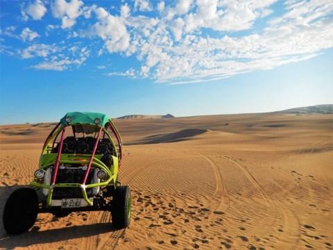 Pérou oasis huacachina dunes buggy
